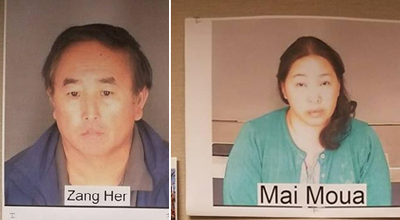 Zang Her and Mai Moua arrested for Arson for UC Oriental Market